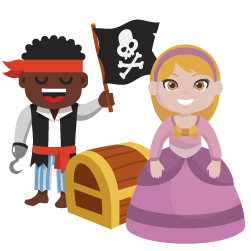 Pirate and Princess Party Package by Fun Play Inflatables