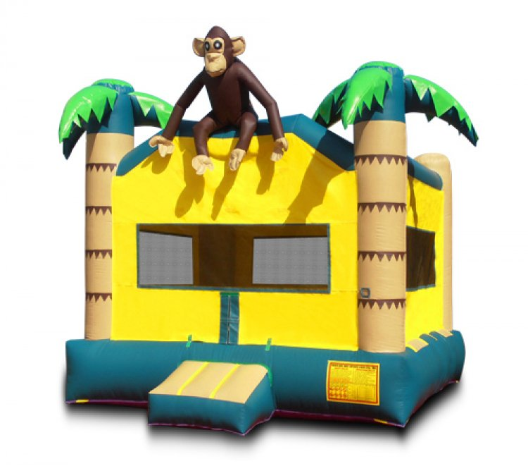 Jungle Monkey Bounce