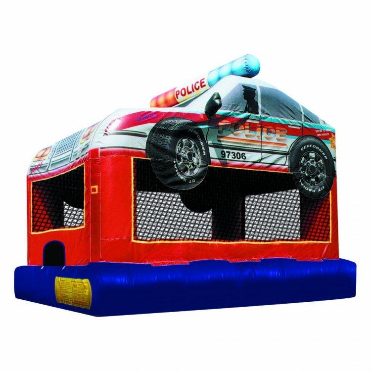 Police Car Bounce