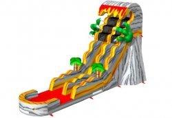 Add water to T-Rex Slide